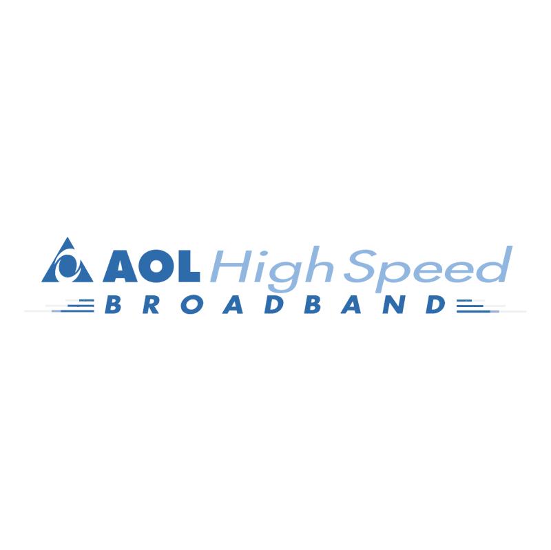 AOL High Speed Broadband vector