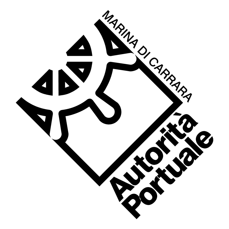 Autorita Portulae Marina di Carrara vector