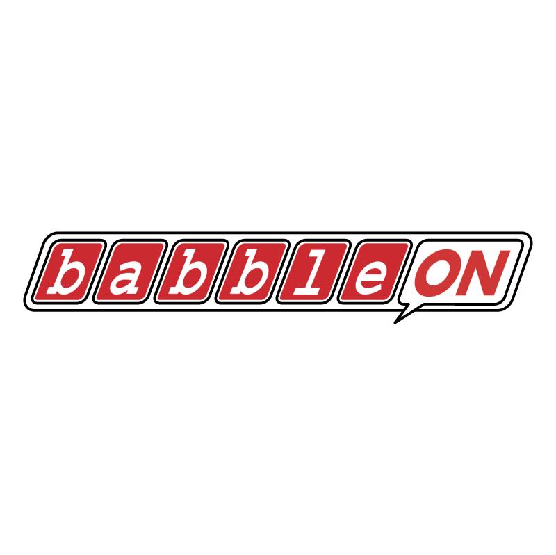 BabbleOn 81064 vector