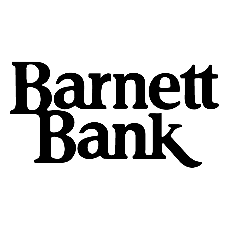 Barnett Bank vector