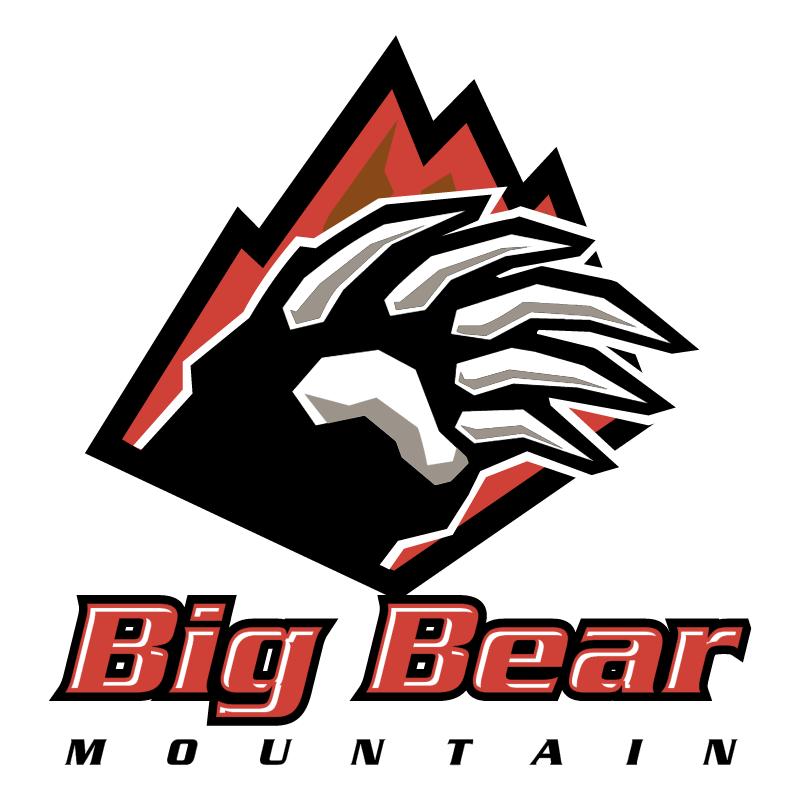 Big Bear Mountain vector
