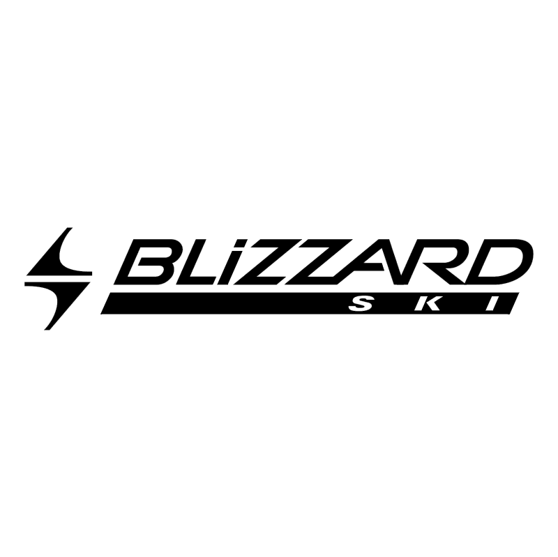 Blizzard Ski vector
