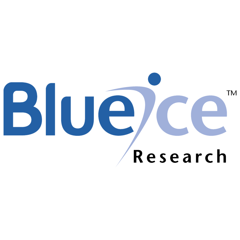 Blueice Research vector logo