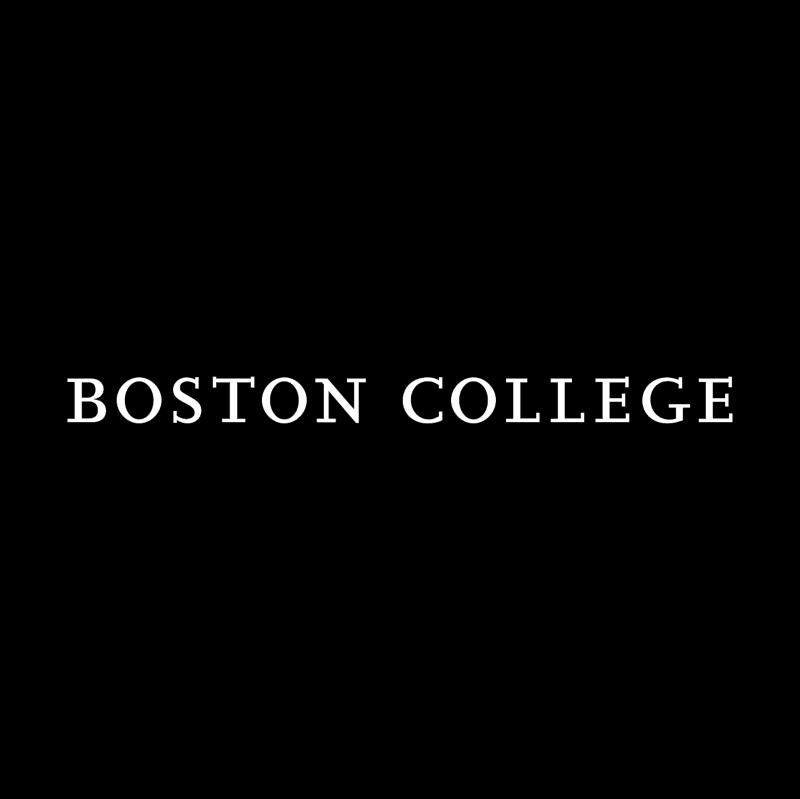 Boston College vector logo