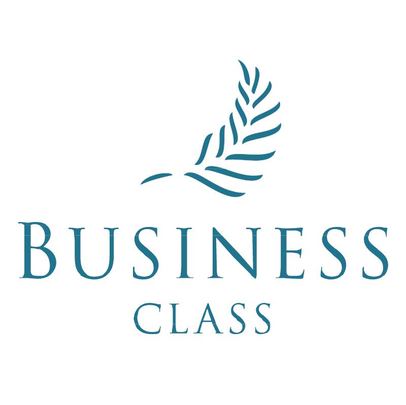 Business Class vector logo