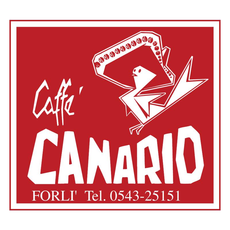 Canario Caffe vector logo