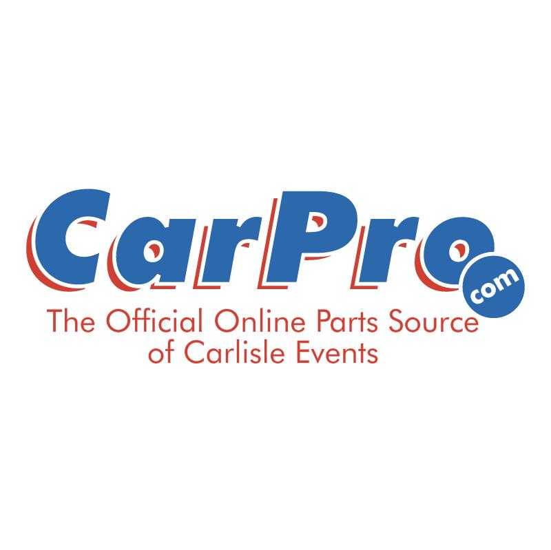 CarPro vector logo
