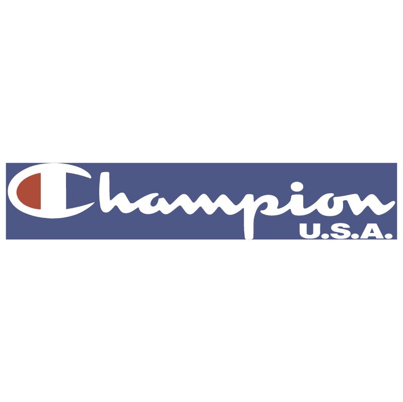Champion USA vector