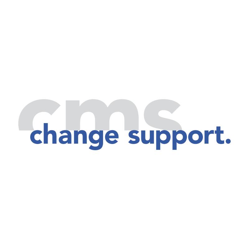 CMS AG Change Management Support vector logo