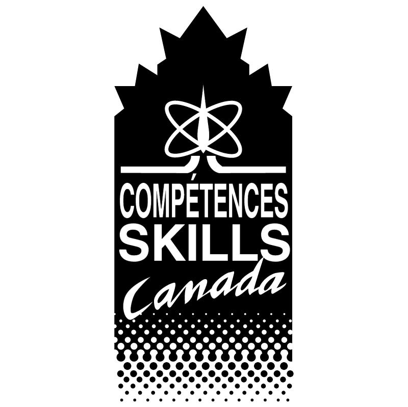Competence Skills Canada 1260 vector