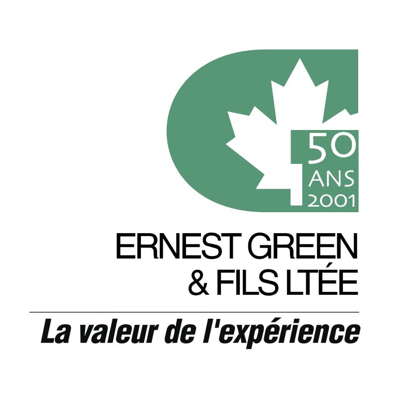 Ernest Green & Fils Ltee vector