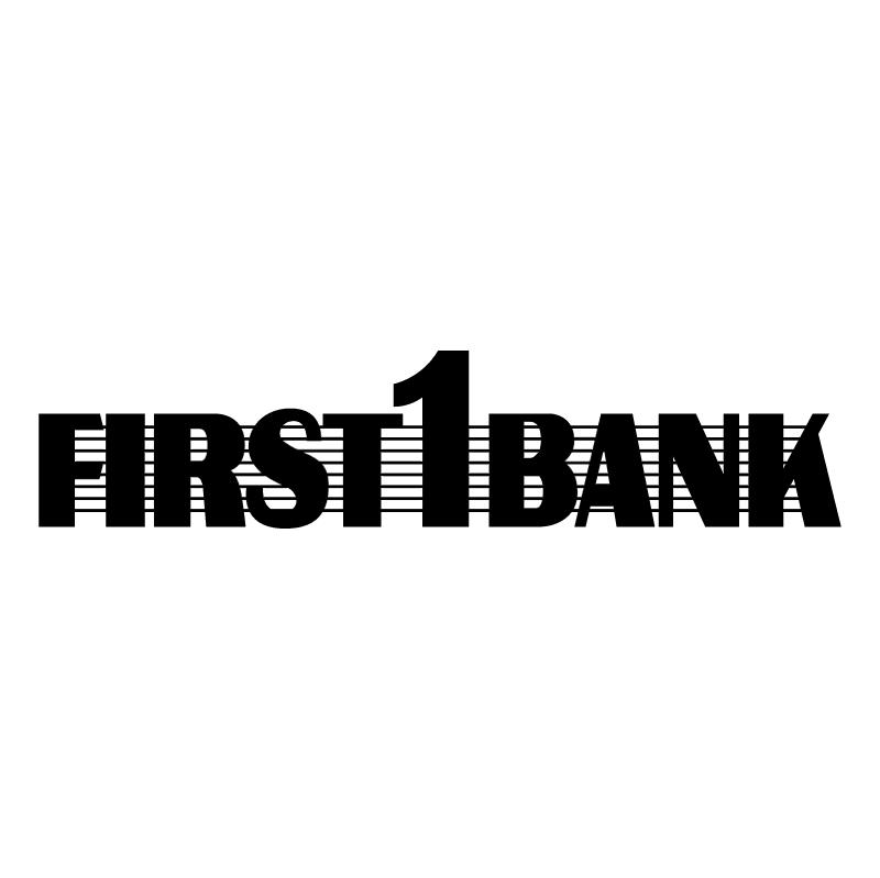 First Bank vector logo