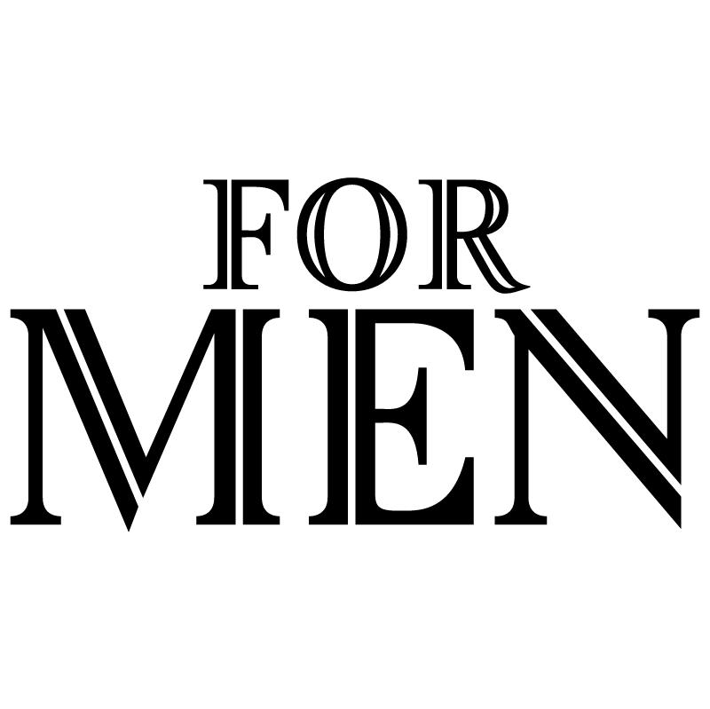 For Men vector