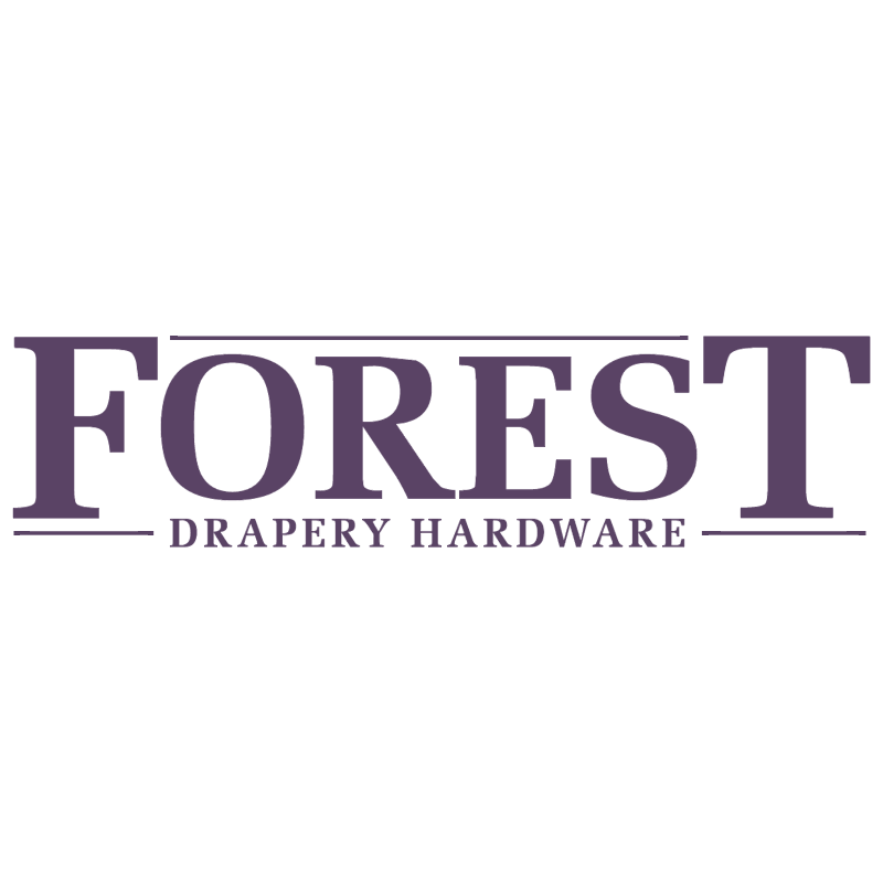 Forest Drapery Hardware vector
