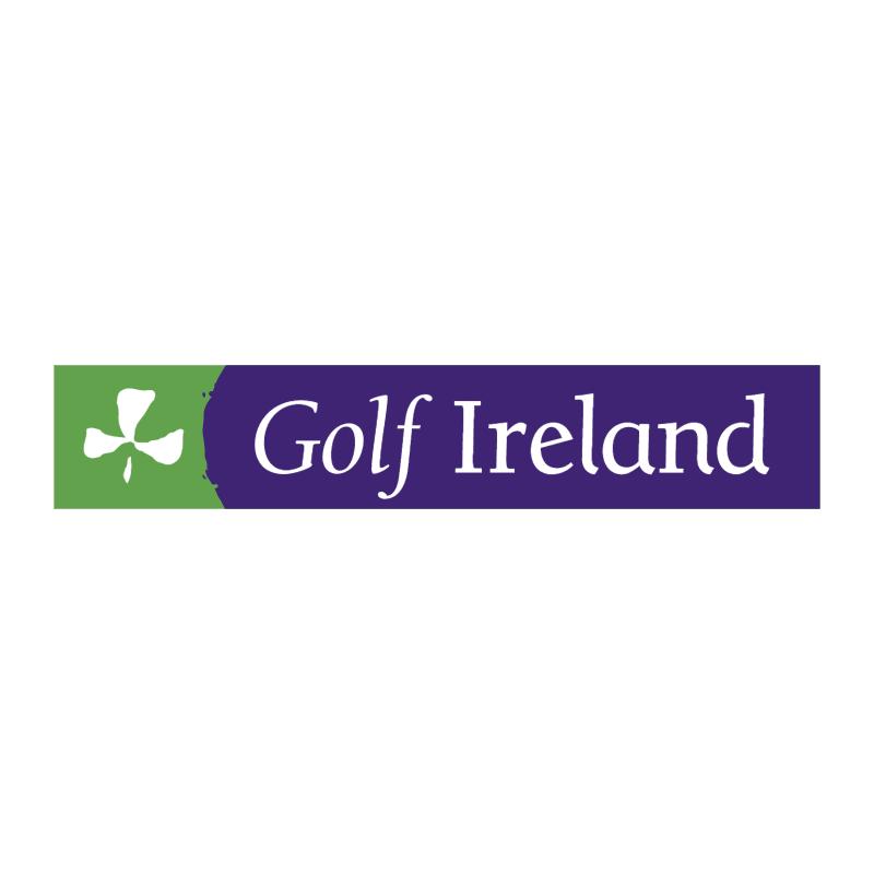 Golf Ireland vector logo