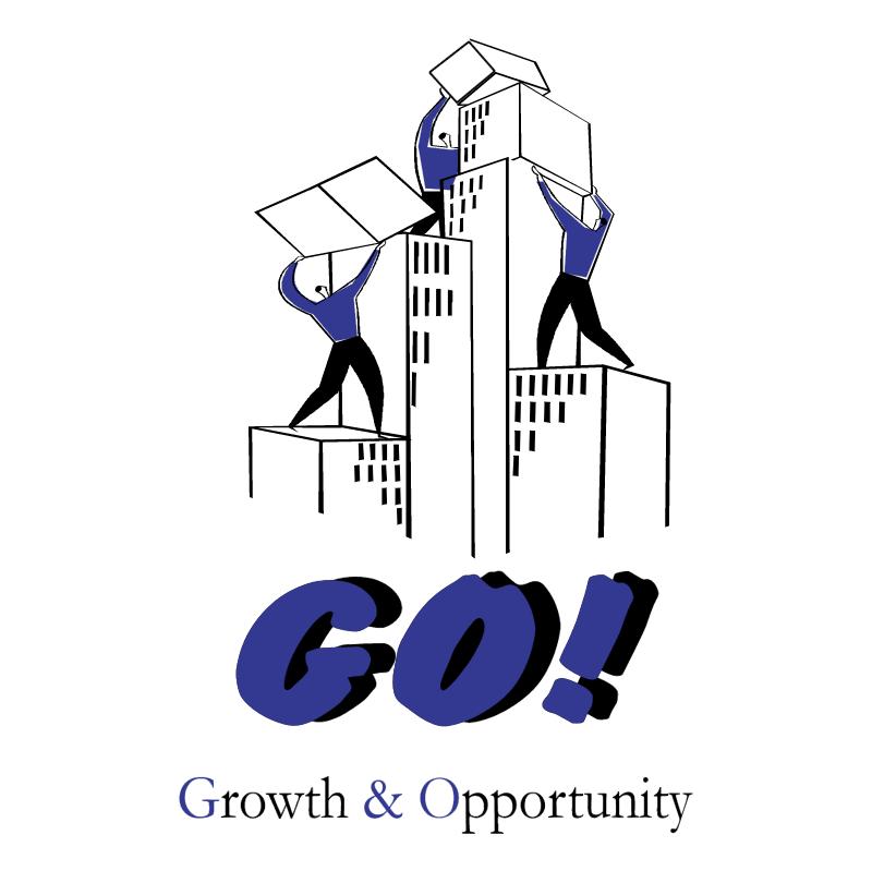 Groth & Opportunity vector logo