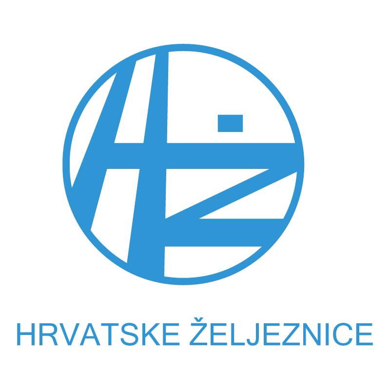 HZ Hrvatske Zeljeznice vector
