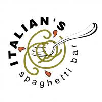 Italian's Spaghetti Bar vector