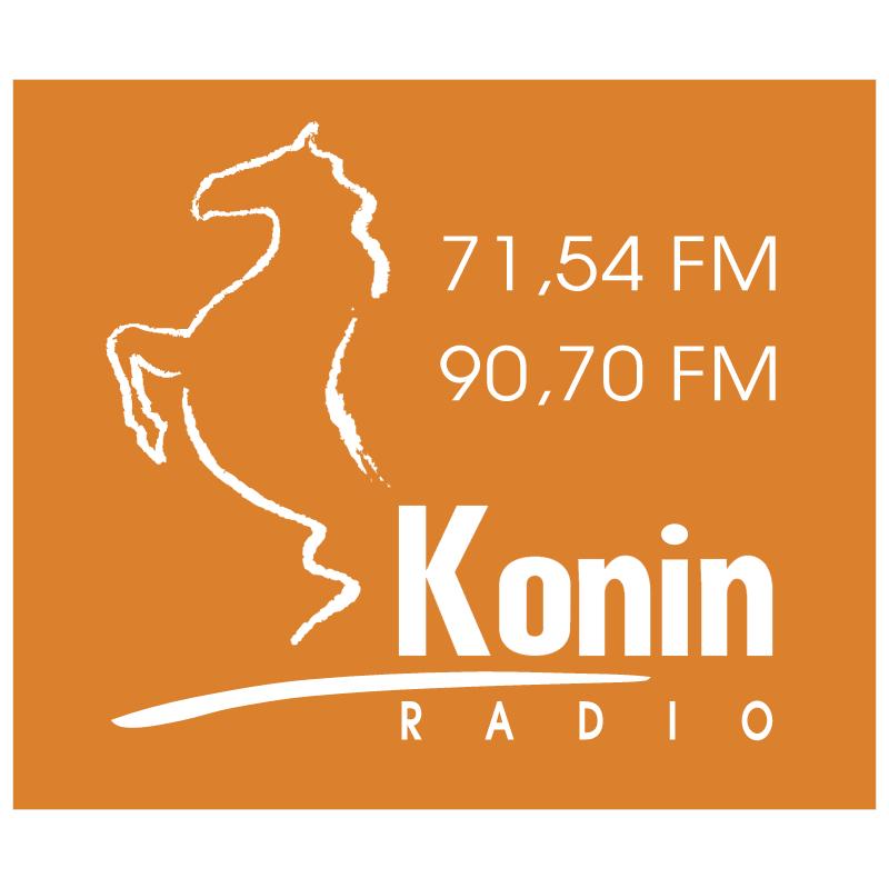 Konin Radio vector