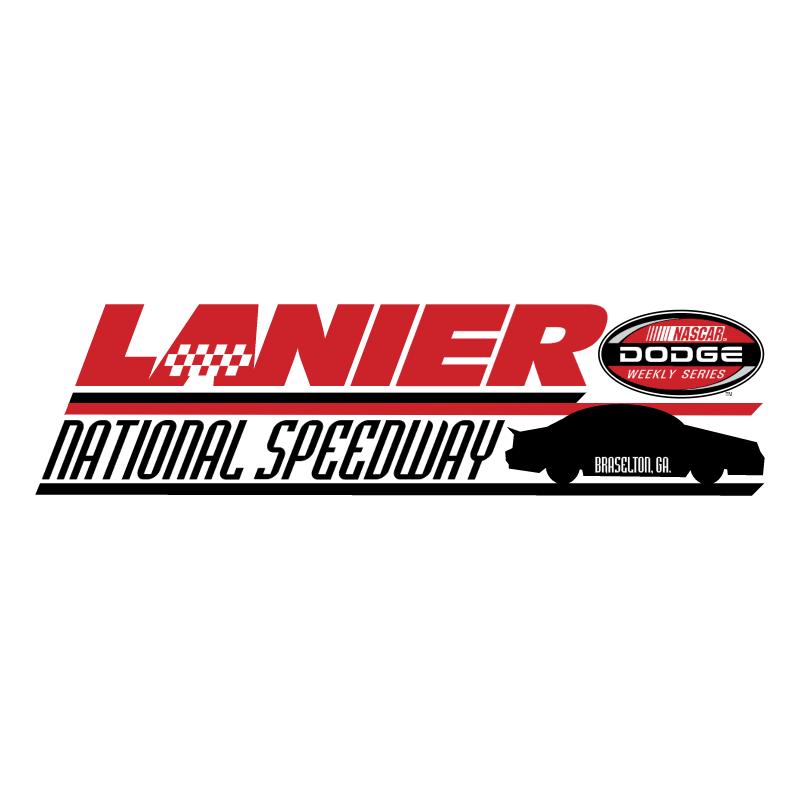 Lanier National Speedway vector logo