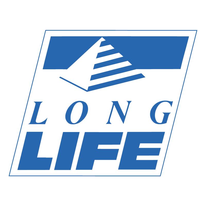 Long Life vector logo