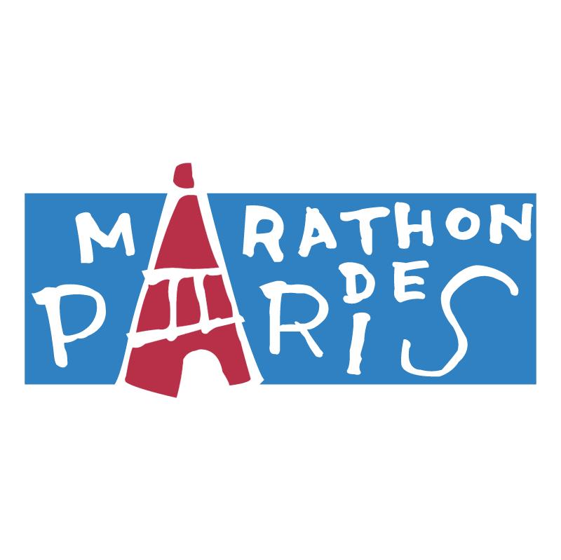 Marathon De Paris vector logo