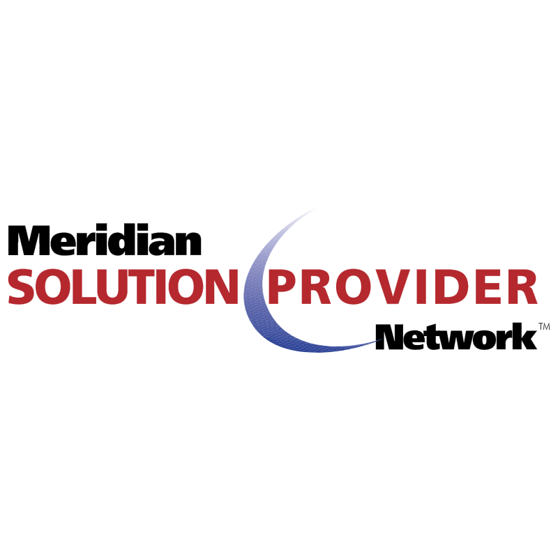 Meridian Solution Provider vector