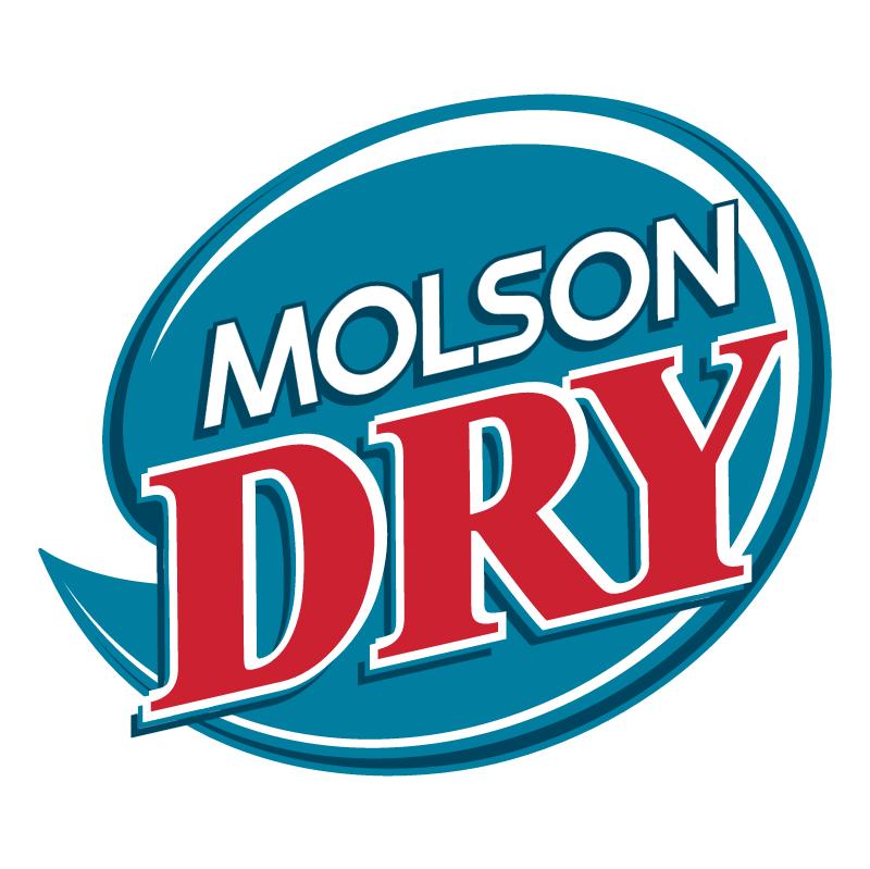 Molson Dry vector logo
