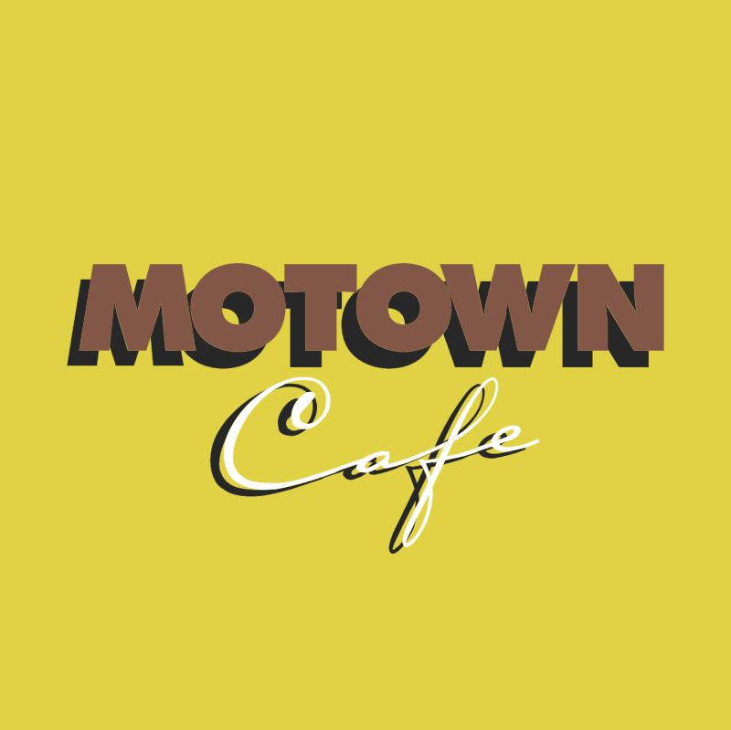 Motown Cafe vector