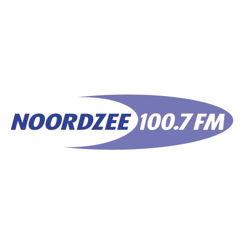Noordzee 100 7 FM vector