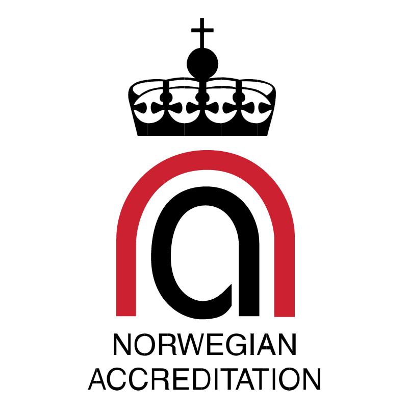 Norwegian Accreditation vector