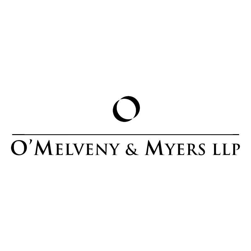 O'Melveny & Myers LLP vector