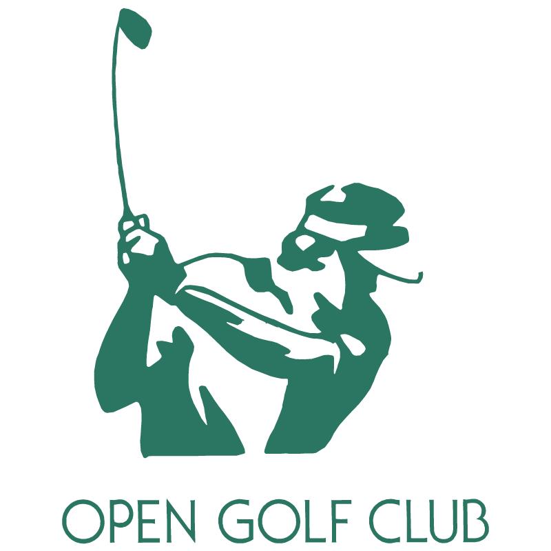 Open Golf Club vector