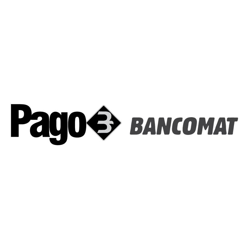 Pago Bancomat vector logo