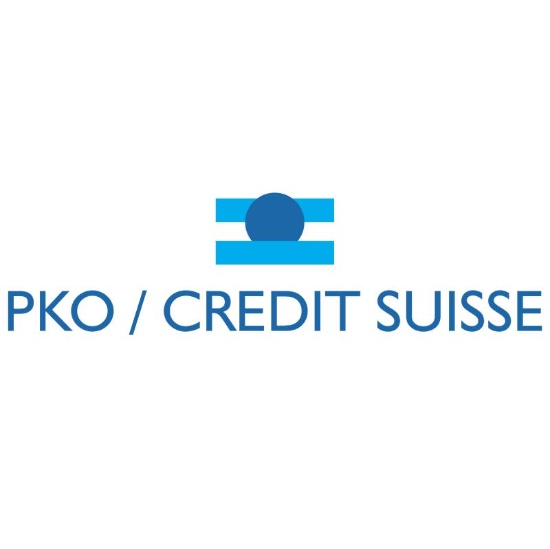 PKO Credit Suisse vector