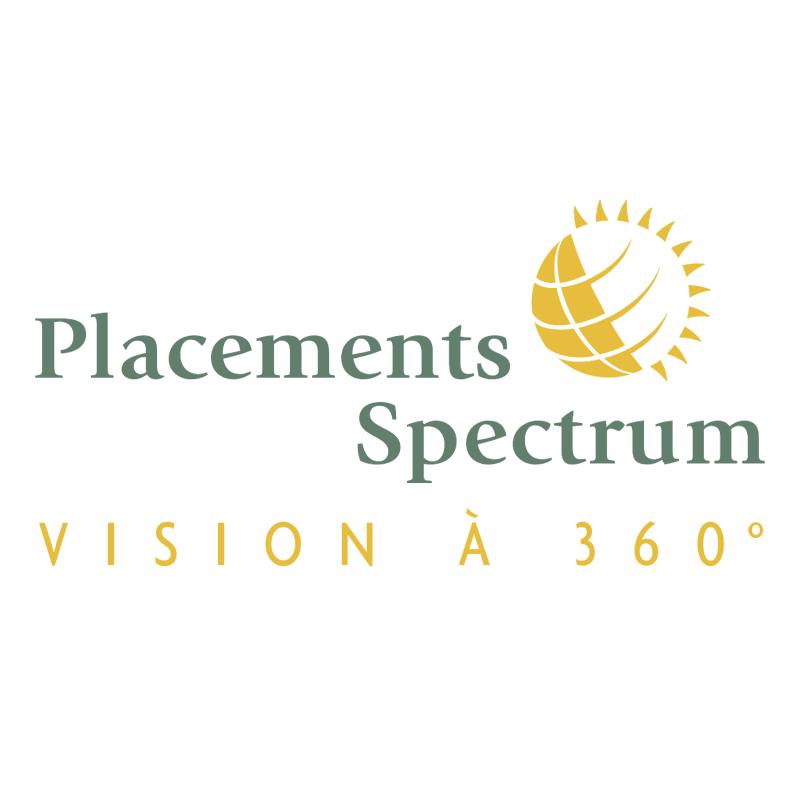 Placements Spectrum vector