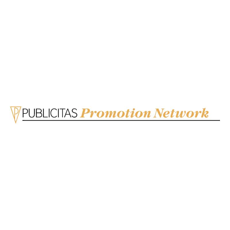 Publicitas Promotion Netorks vector