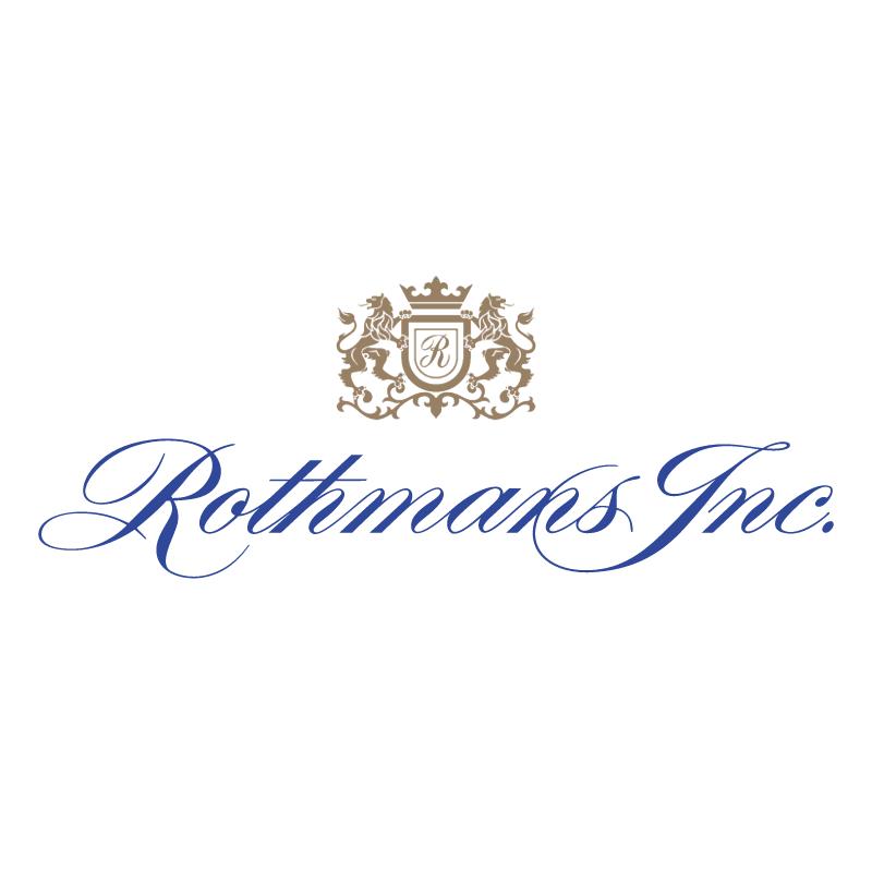 Rothmans Inc vector