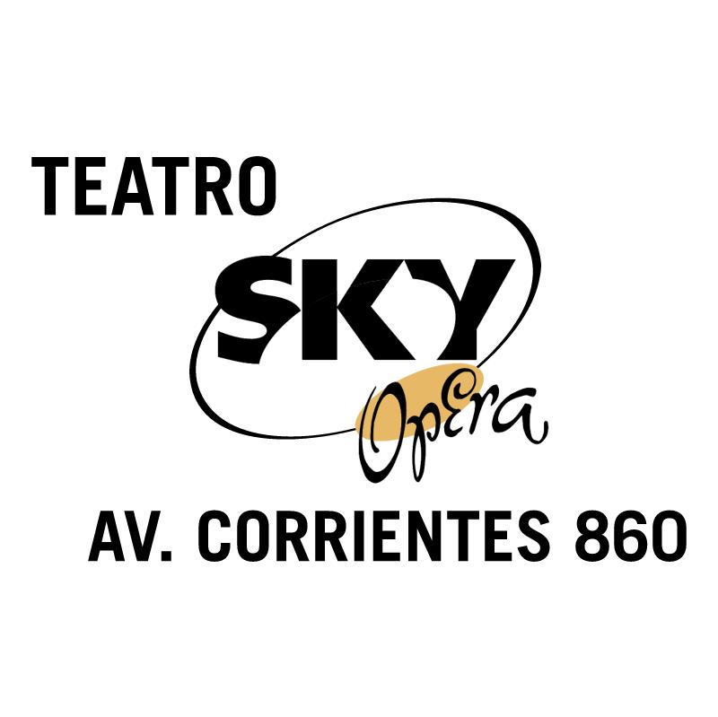 Sky Opera vector