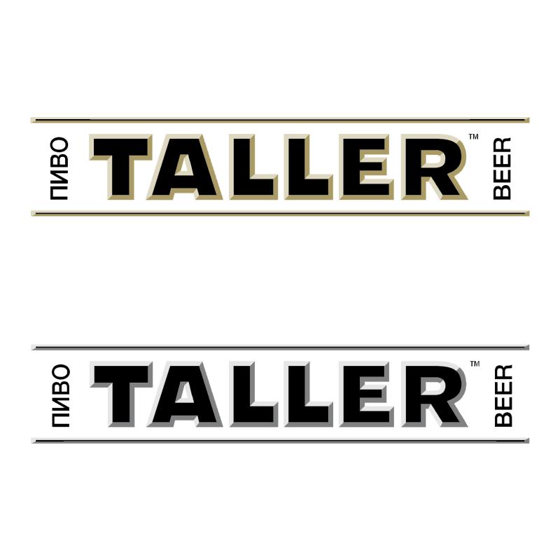 Taller Beer vector