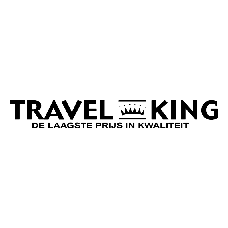 Travel King vector