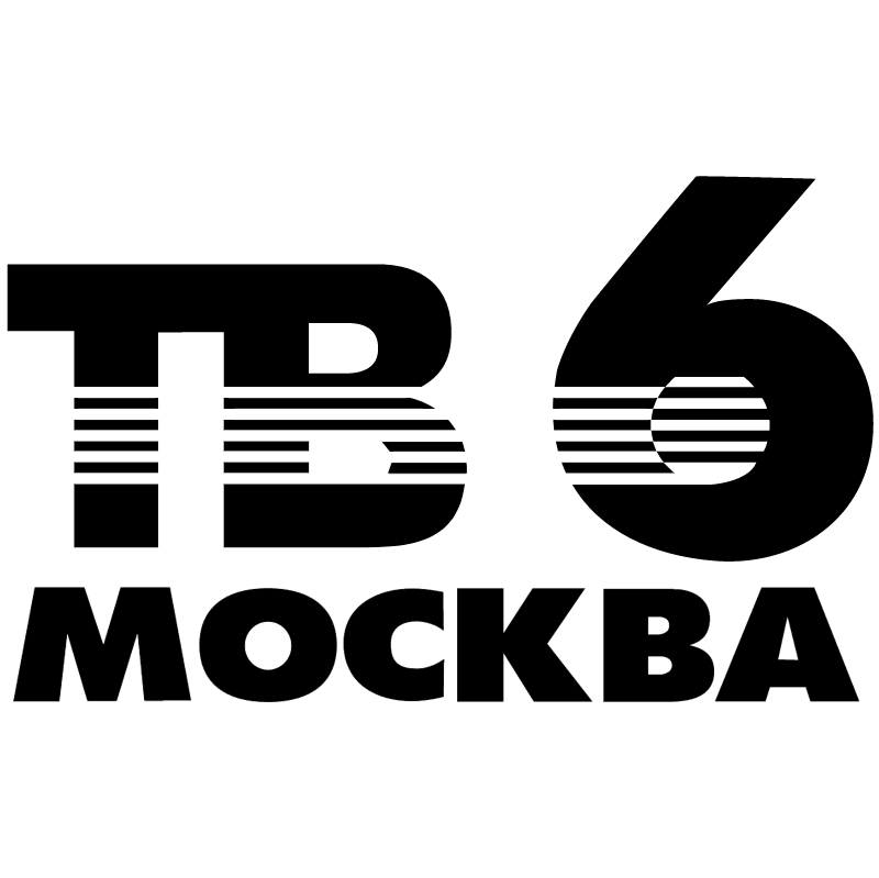 TV6 Moscow vector