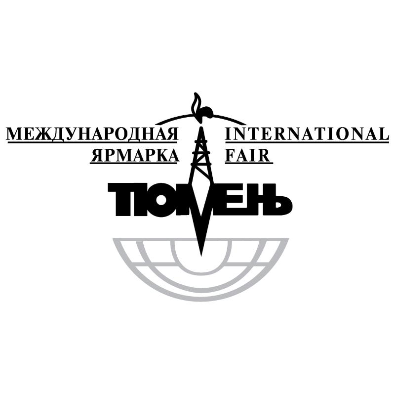 Tyumen International Fair vector