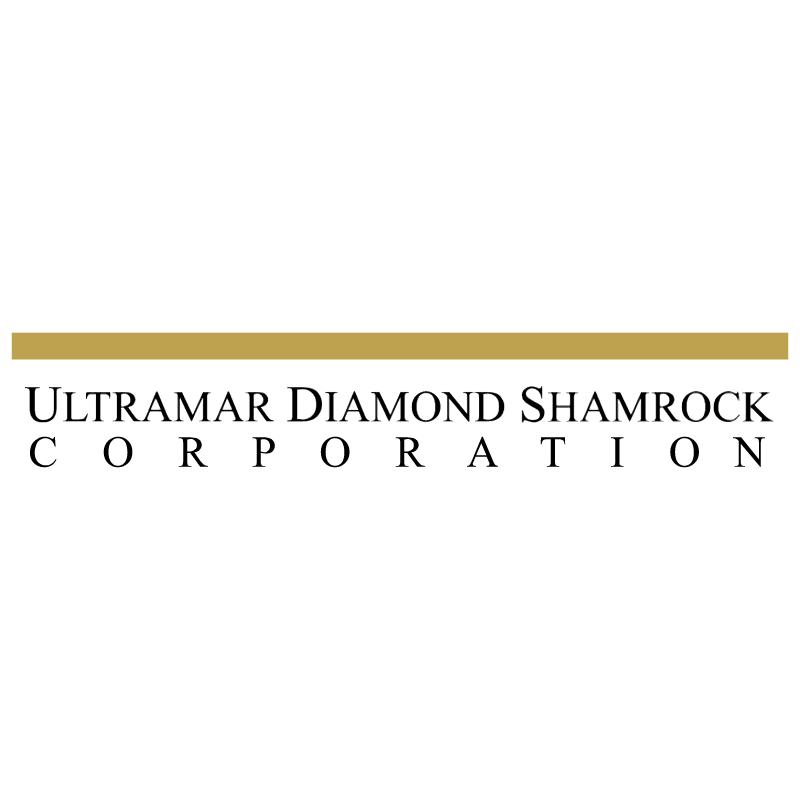 Ultramar Diamond Shamrock vector logo
