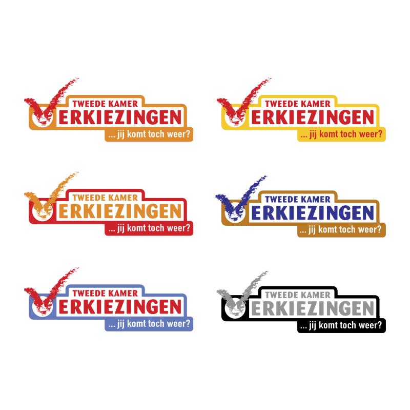 Verkiezingen 2003 vector logo