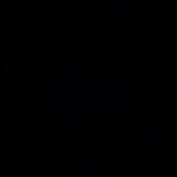 Left Arrow Button vector