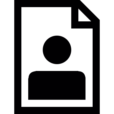User profile vector logo