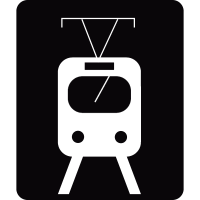 Railway station vector