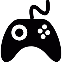 Videogame controller vector