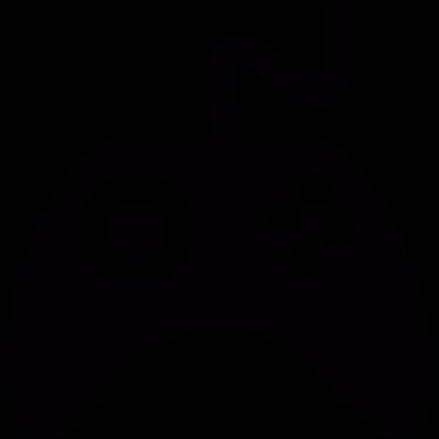 Videogame controller vector logo